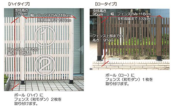 ハイタイプ(タテ2段)&ロータイプ(1段)